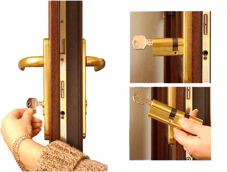 Kako demontirati postojeći cilindrični uložak
